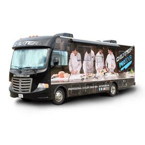 Dexter Russell Pro Tour bus