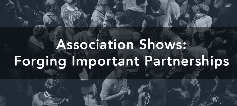 association trade shows partnerships