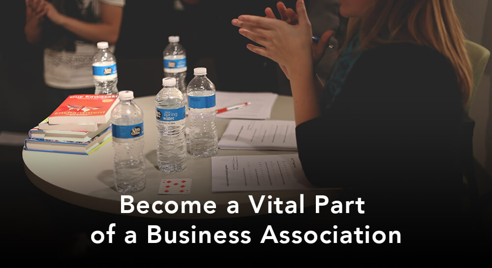 become a vital part of a business association