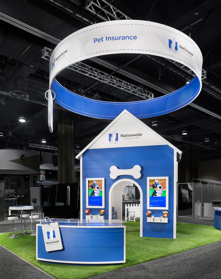 creative exhibit design nationwide pet insurance