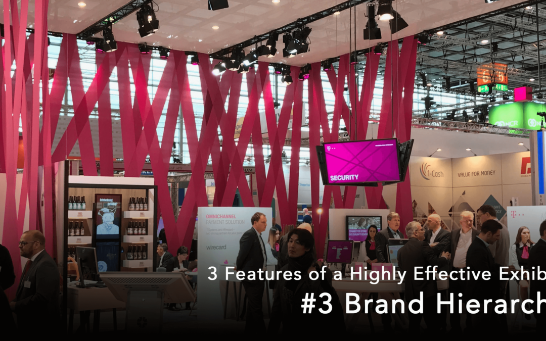 3 Features of a Highly Effective Exhibit: #3 Brand Hierarchy