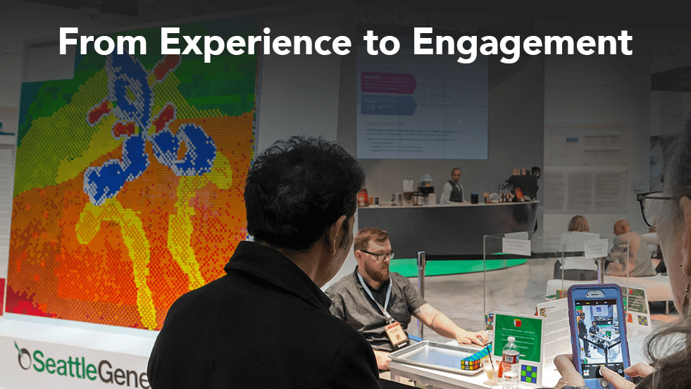 experience to engagement in face to face marketing