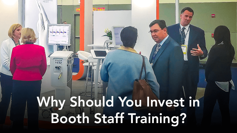 why should you invest in booth staff training