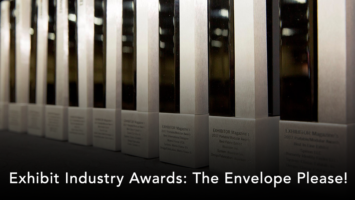 exhibit industry awards