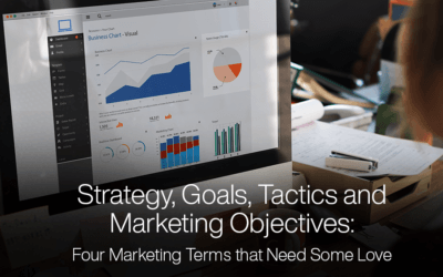 Strategy, Goals, Tactics and Marketing Objectives: Four Marketing Terms that Need Some Love