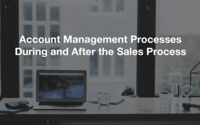 Account Management Processes During and After the Sales Process