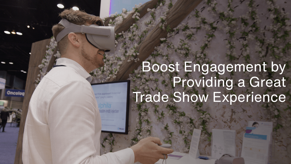 how to improve customer experience for trade shows