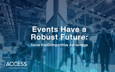 Events Have a Robust Future: Seize the Competitive Advantage